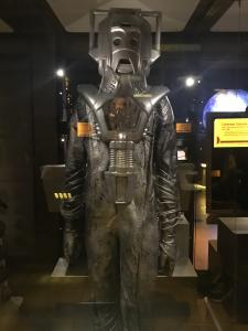 Cyberman Costume from Doctor Who (Museum of Pop Culture, Seattle, 2019)