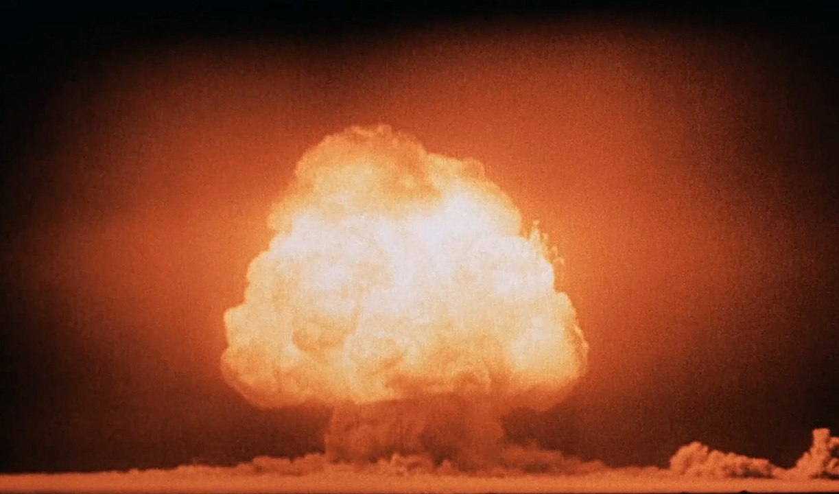 Trinity Nuclear Test, July 16, 1945
