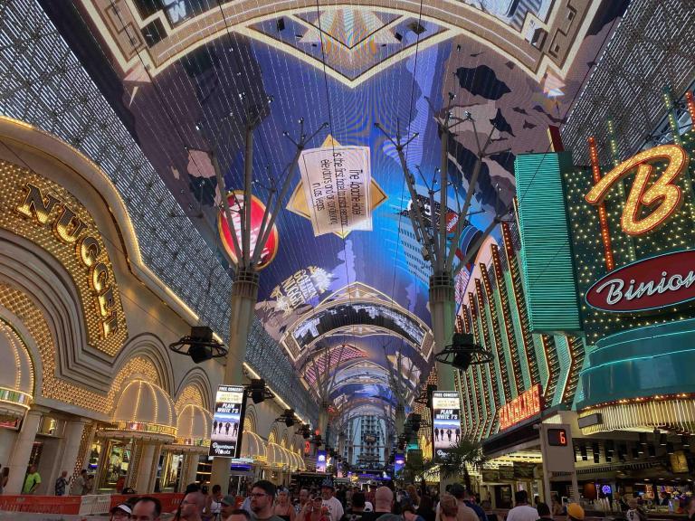 Downtown Las Vegas, 2021