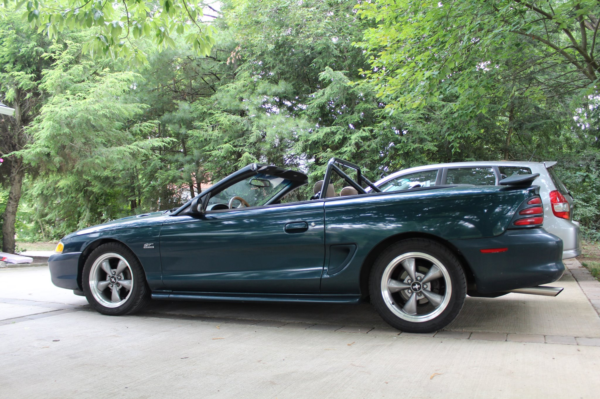 1995 ford mustang gt convertible frank weathers
