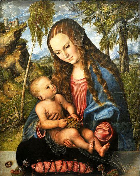 477px-Cranach_Madonna_under_the_fir_tree