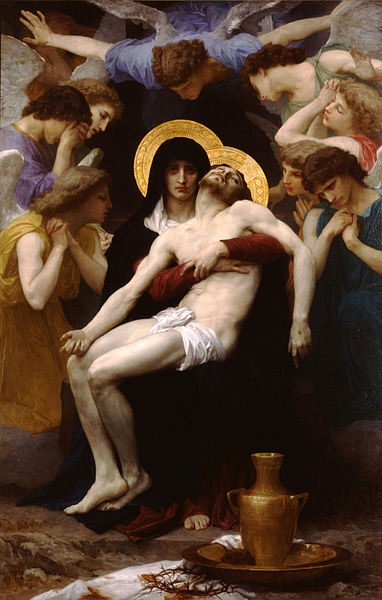 The sign of contradiction... William-Adolphe Bouguereau - Pieta (1876)