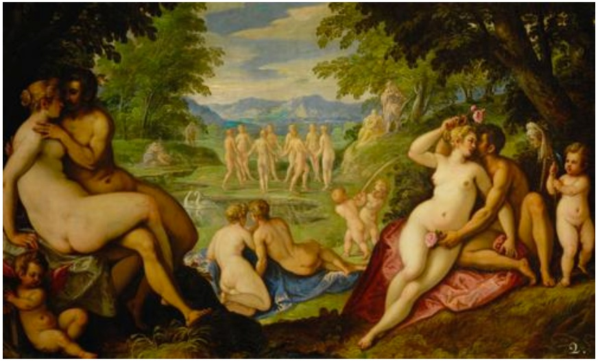 """Amori""- Reciproco amore (Etá dell'oro), Pauwels Franck"