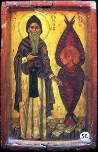 St_Macarius_the_Great_with_Cherub