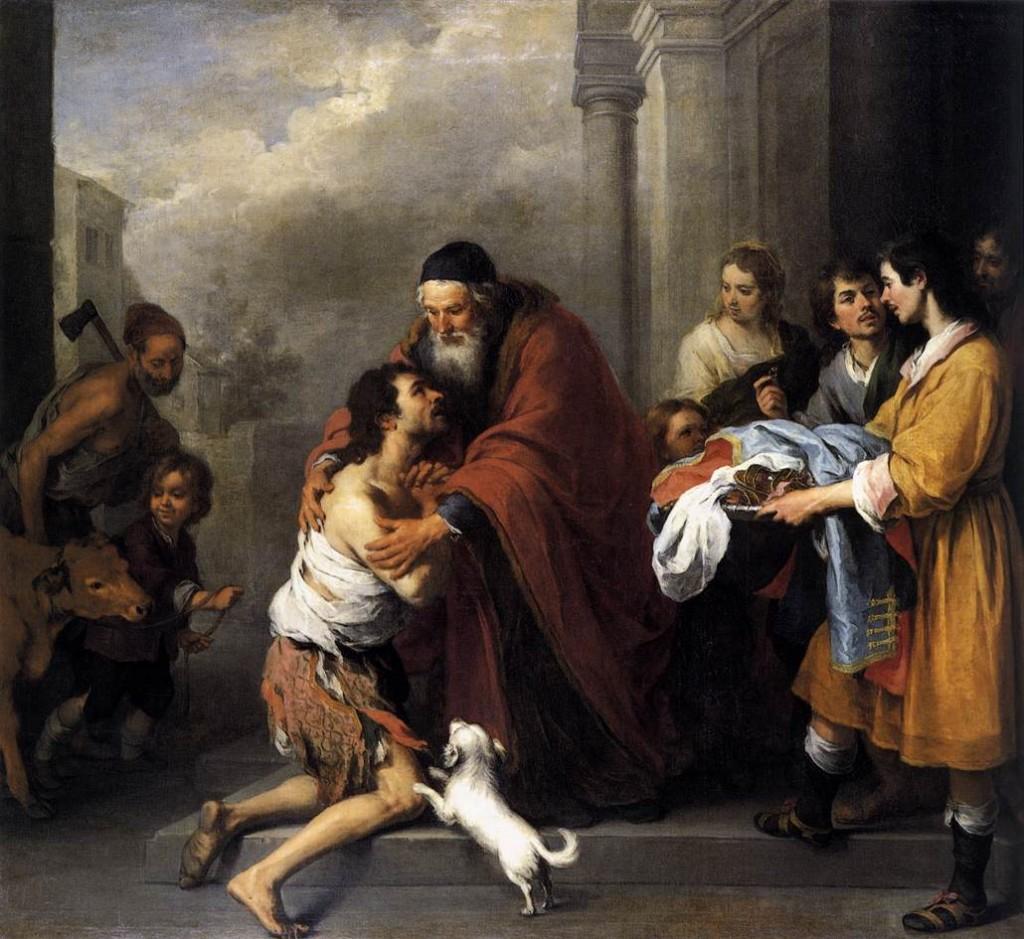The Return of the Prodigal Son, Bartolomé Esteban Murillo (Public Domain)