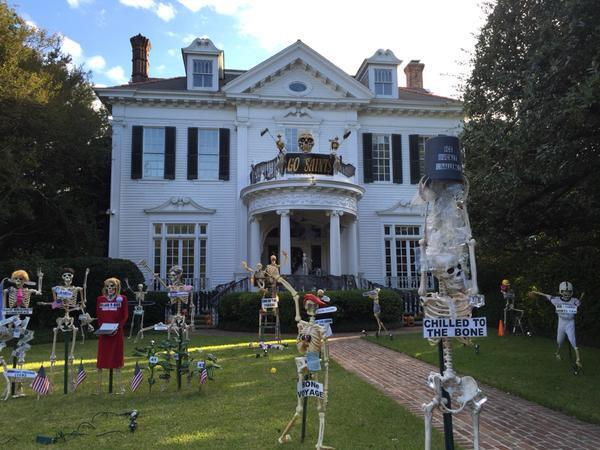 Halloween mansion Carolyn Scofield