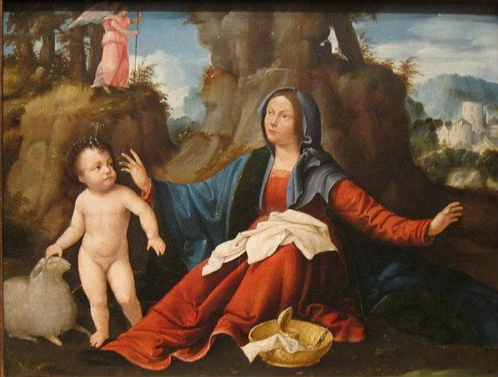 """Vision of the Virgin Mary"" by Martino Piazza da Lodi. From WikiMedia"
