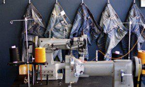 Nudie Jeans repair shop. Courtesy Nudie Jeans