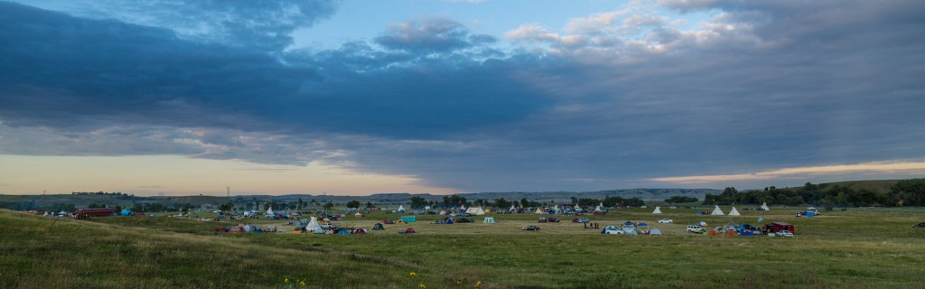Sacred Stone Camp. Photo by Tony Webster (cc) 8/25/2016.