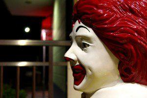 Ronald McDonald. Photo by Naoya Fujii (cc) 2007.