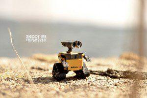 Wall-e à l'Etang. photo by Yan Gar (cc) 2010.