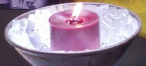 Chalice and Peace Candle