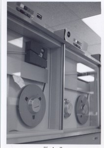 A pair of IBM 2415 reel-to-reel tape drives