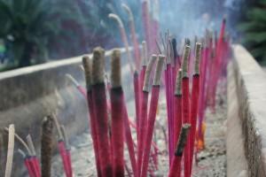Burning Incense. photo by Richard IJzermans (cc) 2006.