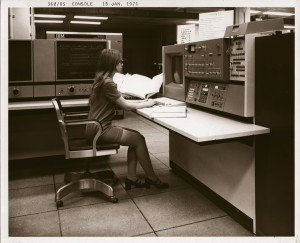 IBM System/360, Model 85 in use at the NSA, 1971