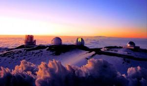 Telescopes of the Mauna Kea Observatory,