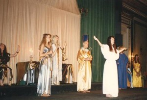 Temple of Isis at the 1993 Parliament of World Religions.