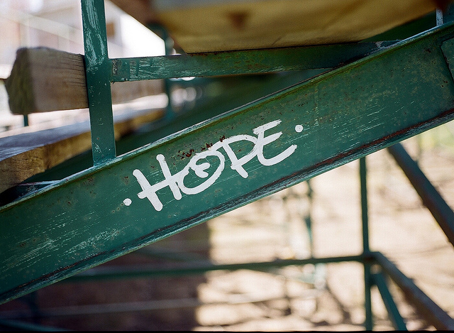 Hope. photo by Steve Snodgrass (cc) 2011.