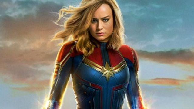 Art Poster Captain Marvel Movie 2019 Hot Brie Larson Poster 48 24x36 20x30 D217