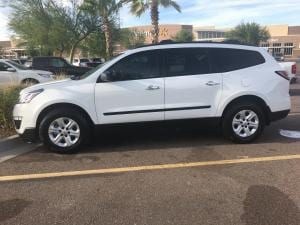our new Chevy Traverse