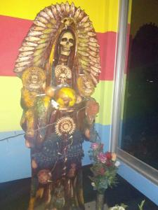 Supplicating Santa Muerte: Fierce Female Folk Saint as