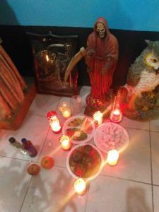 Supplicating Santa Muerte: Fierce Female Folk Saint as