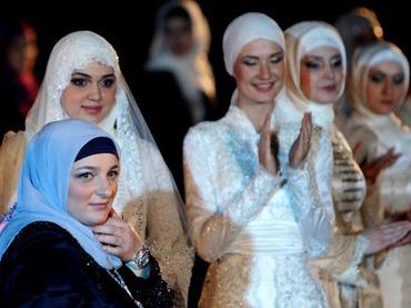 Girl chechnya muslim Chechen Women