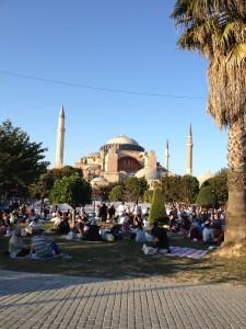 Iftar at Ayasofya