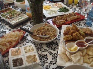 Iftar foods