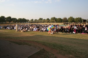 Inclusive Eid prayers in Johannesburg