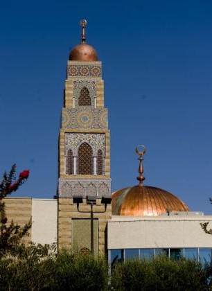 The masjid I used to attend and where I got married, in California.