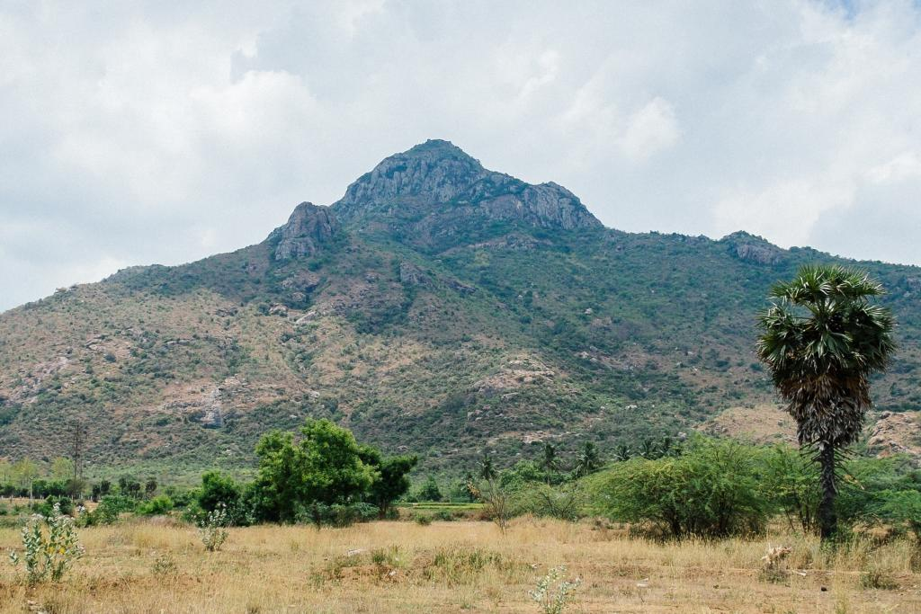 Mt Arunachala, Tiruvannamalai, India photo
