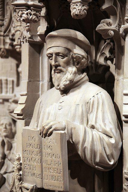 John Wycliffe martyr