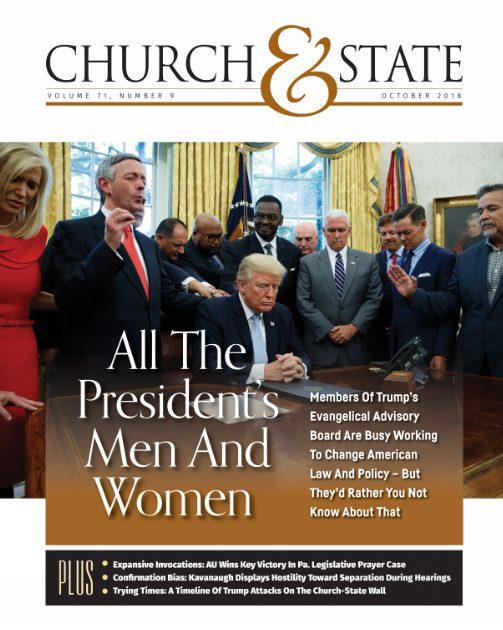 Trump evangelical board