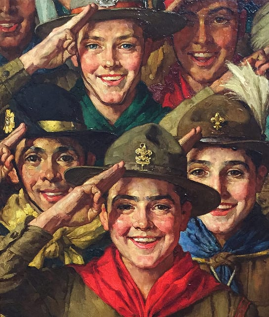 morality boy scouts christianity