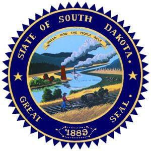 South Dakota seal bibles evangelicals