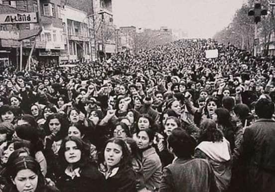 iran revolution women oppression america