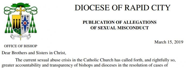 south dakota priests sex abuse