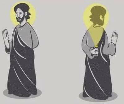 humor atheist halo saints cartoon