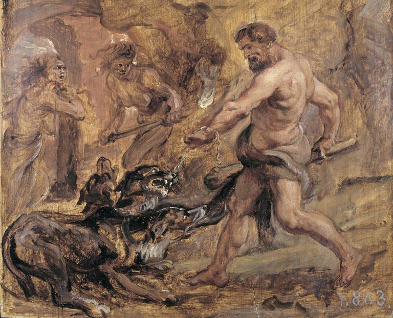cerberus greek mythology spot humor