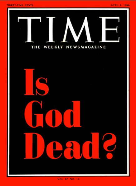 god dead new religions atheism