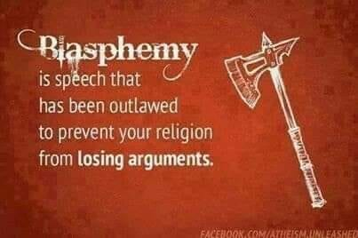 humor blasphemy christianity law