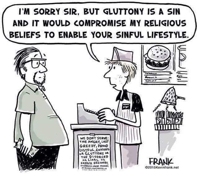 humor cartoon religious discrimination christianity