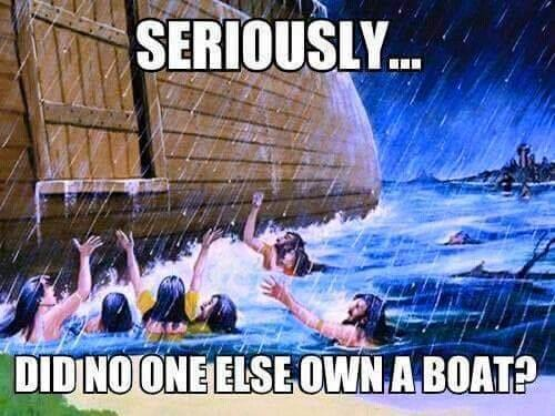 noah flood atheism bible rationalism history