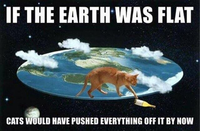 flat-earth science conspiracy theories truth