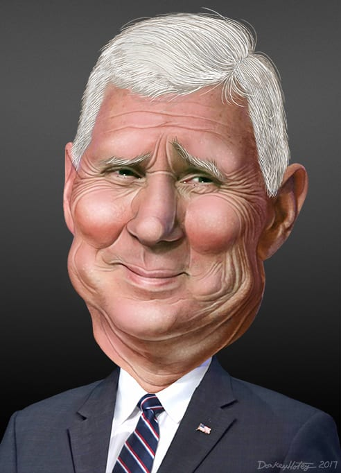 mike pence foreign aid christian privilege mideast
