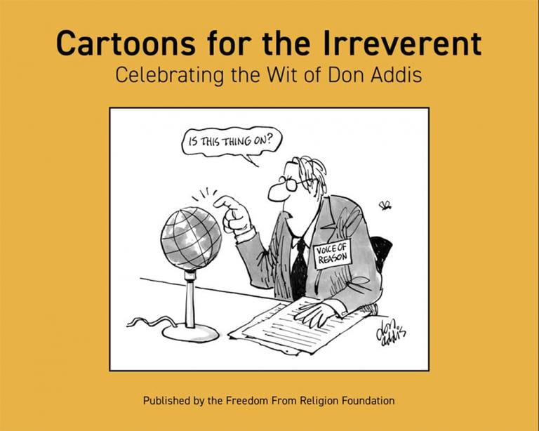 humor cartoons book freedom from religion foundation