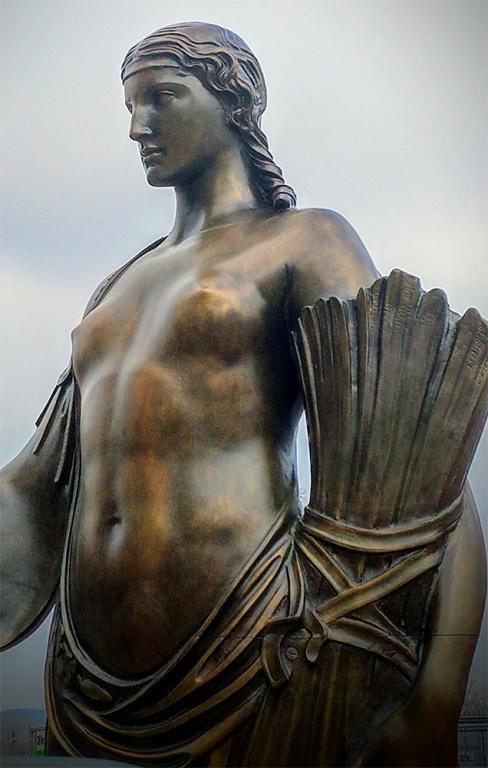statue roman goddess christianity bigotry missouri