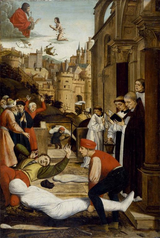 plague prayer coronavirus god science medicine