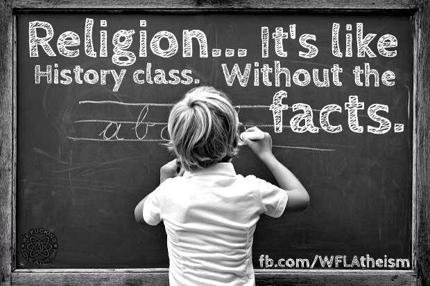 atheism religion christianity truth apostacy